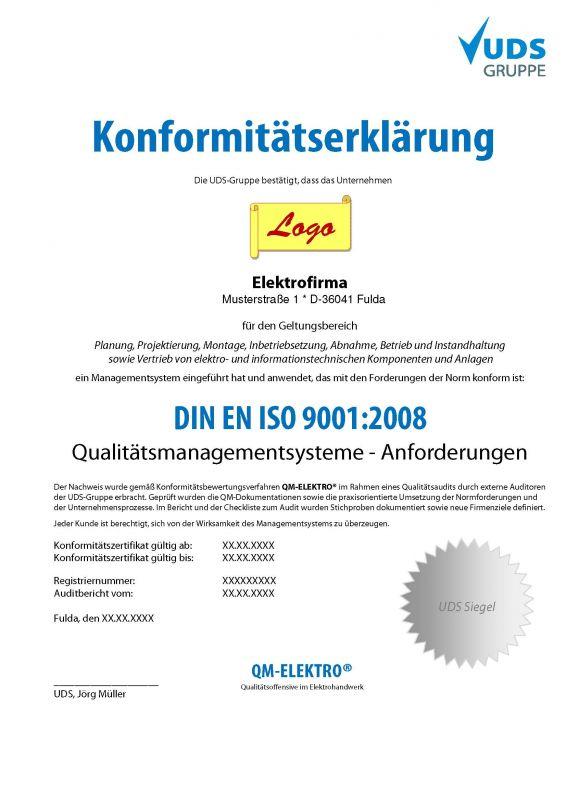 konformittserklrung vorlage elektro - Konformitatserklarung Beispiel